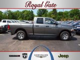 2012 Mineral Gray Metallic Dodge Ram 1500 ST Quad Cab 4x4 #64353291
