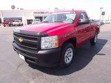 2011 Victory Red Chevrolet Silverado 1500 Regular Cab #64353042