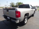 2009 Silver Birch Metallic Chevrolet Silverado 1500 Regular Cab #64353040