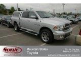 2009 Bright Silver Metallic Dodge Ram 1500 Laramie Crew Cab 4x4 #64352643
