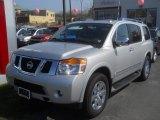 2012 Brilliant Silver Nissan Armada Platinum 4WD #64353241