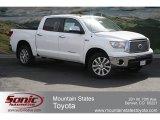2012 Super White Toyota Tundra Platinum CrewMax 4x4 #64352627