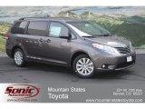2012 Predawn Gray Mica Toyota Sienna XLE AWD #64352621
