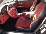 2006 Chrysler Crossfire Limited Roadster Dark Slate Gray/Red Interior