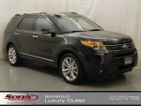 2011 Tuxedo Black Metallic Ford Explorer Limited #64352940