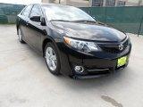 2012 Attitude Black Metallic Toyota Camry SE #64352916