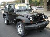 2010 Black Jeep Wrangler Rubicon 4x4 #64404606