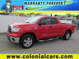 2010 Radiant Red Toyota Tundra Double Cab 4x4 #64405374