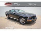 2005 Black Ford Mustang V6 Premium Coupe #64405336