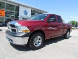2011 Deep Cherry Red Crystal Pearl Dodge Ram 1500 ST Quad Cab #64404946
