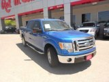 2010 Blue Flame Metallic Ford F150 XLT SuperCrew #64404514