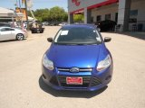 2012 Sonic Blue Metallic Ford Focus S Sedan #64404509