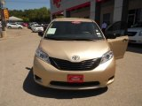 2011 Sandy Beach Metallic Toyota Sienna LE #64404506
