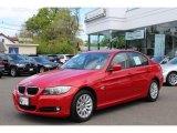 2009 Crimson Red BMW 3 Series 328xi Sedan #64404475