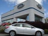 2012 Ingot Silver Metallic Ford Focus SEL Sedan #64404457