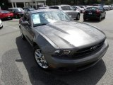 2011 Sterling Gray Metallic Ford Mustang V6 Premium Coupe #64404849