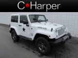 2011 Bright White Jeep Wrangler Mojave 4x4 #64405226