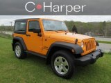 2012 Dozer Yellow Jeep Wrangler Sport S 4x4 #64404375