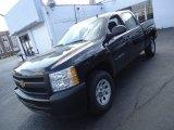 2012 Black Chevrolet Silverado 1500 Work Truck Crew Cab 4x4 #64404751