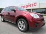 2010 Cardinal Red Metallic Chevrolet Equinox LS #64404729
