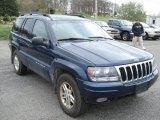 2002 Patriot Blue Pearlcoat Jeep Grand Cherokee Laredo 4x4 #64404698