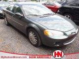 2002 Sterling Blue Satin Glow Chrysler Sebring LXi Sedan #64404157