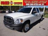 2008 Bright White Dodge Ram 1500 ST Quad Cab #64405100