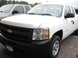 2012 Summit White Chevrolet Silverado 1500 Work Truck Extended Cab #64404652