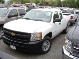 2012 Summit White Chevrolet Silverado 1500 Work Truck Extended Cab #64404647