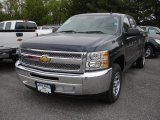 2012 Imperial Blue Metallic Chevrolet Silverado 1500 LS Extended Cab #64404641
