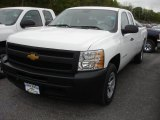 2012 Summit White Chevrolet Silverado 1500 Work Truck Extended Cab #64404640