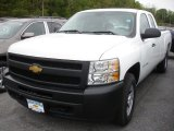 2012 Summit White Chevrolet Silverado 1500 Work Truck Extended Cab 4x4 #64404639