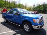 2012 Blue Flame Metallic Ford F150 XLT SuperCab 4x4 #64478691