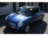 2007 Lightning Blue Metallic Mini Cooper Convertible #64478738