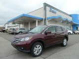 2012 Basque Red Pearl II Honda CR-V EX-L 4WD #64478861