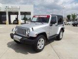 2011 Bright Silver Metallic Jeep Wrangler Sahara 4x4 #64505055