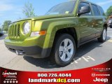 2012 Rescue Green Metallic Jeep Patriot Latitude #64510784