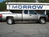 2009 Graystone Metallic Chevrolet Silverado 1500 LT Extended Cab 4x4 #64510746