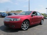 2007 Vivid Red Metallic Lincoln MKZ AWD Sedan #64510728