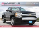 2008 Black Chevrolet Silverado 1500 Work Truck Regular Cab #64511192