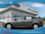 2012 Sterling Grey Metallic Ford Focus SE SFE Sedan #64510703