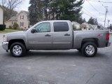 2012 Graystone Metallic Chevrolet Silverado 1500 LT Crew Cab 4x4 #64510682