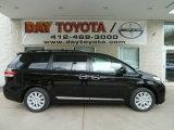 2012 Black Toyota Sienna XLE AWD #64510673