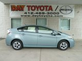 2012 Sea Glass Pearl Toyota Prius 3rd Gen Two Hybrid #64510668