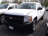 2012 Summit White Chevrolet Silverado 1500 Work Truck Extended Cab #64510641