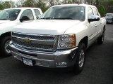 2012 Summit White Chevrolet Silverado 1500 LT Crew Cab #64510637