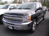 2012 Black Granite Metallic Chevrolet Silverado 1500 LT Crew Cab #64510636