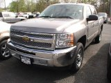 2012 Graystone Metallic Chevrolet Silverado 1500 LS Crew Cab #64510635