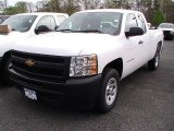 2012 Summit White Chevrolet Silverado 1500 Work Truck Extended Cab #64510631