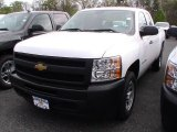 2012 Summit White Chevrolet Silverado 1500 Work Truck Extended Cab #64510628
